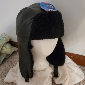 NEW! Unisex Aviator Trapper Ski Hat Faux Fur